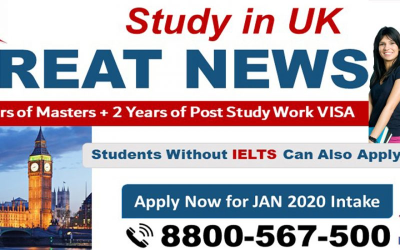 2 Years Post Study Work Visa with Masters in UK